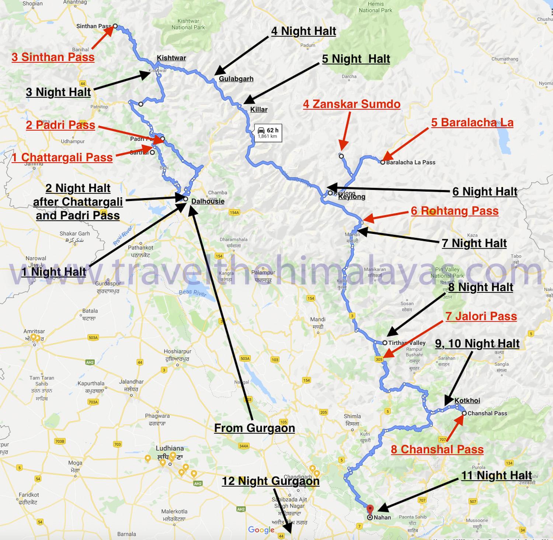 great-himalayan-ride-map