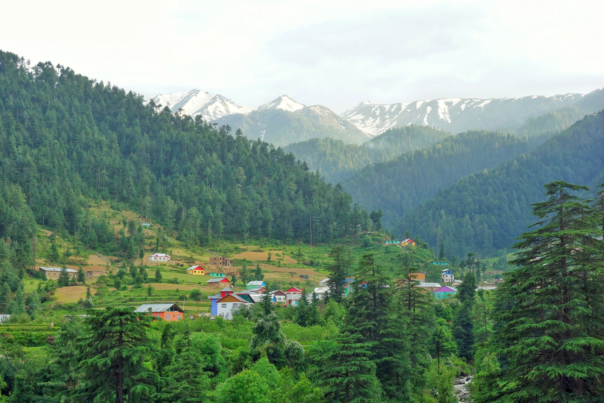 A Village on the outskirts of Bhaderwah