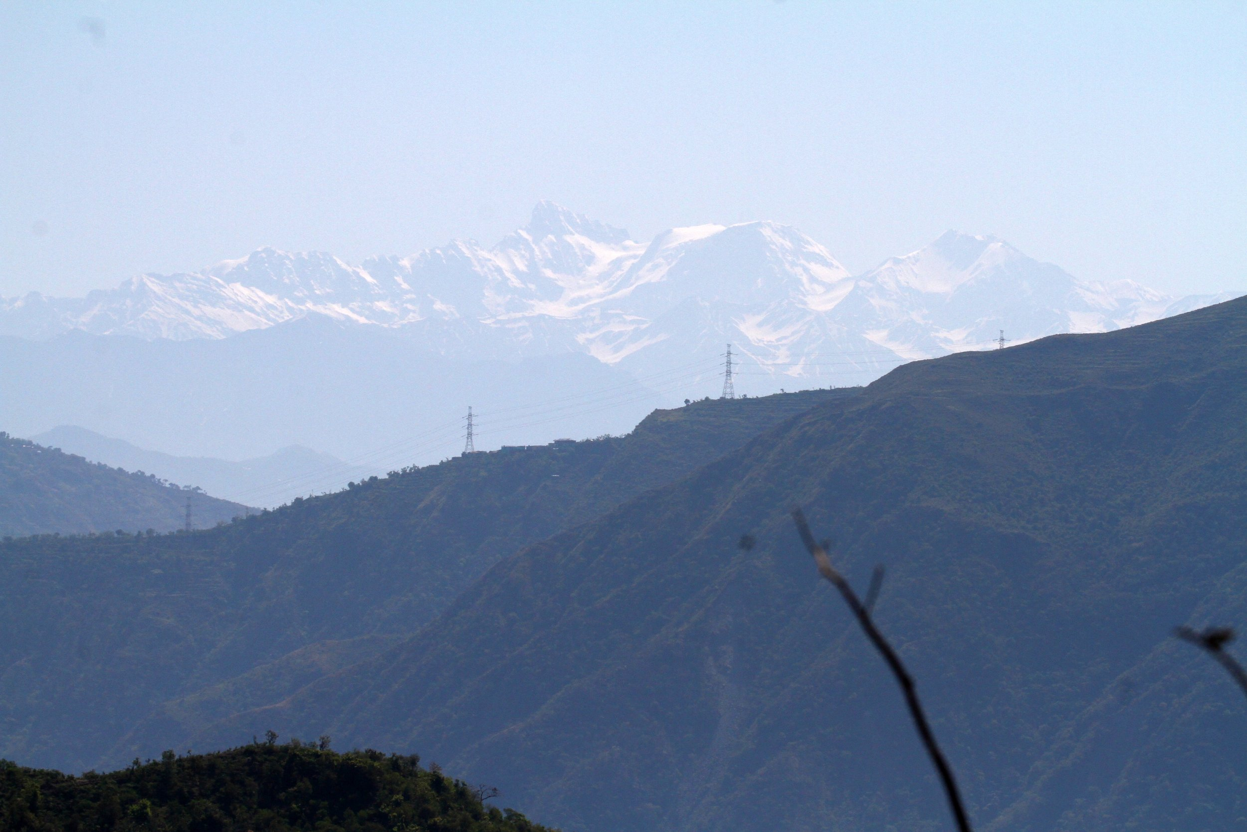 The Hidden Himalayas as they start to appear.
