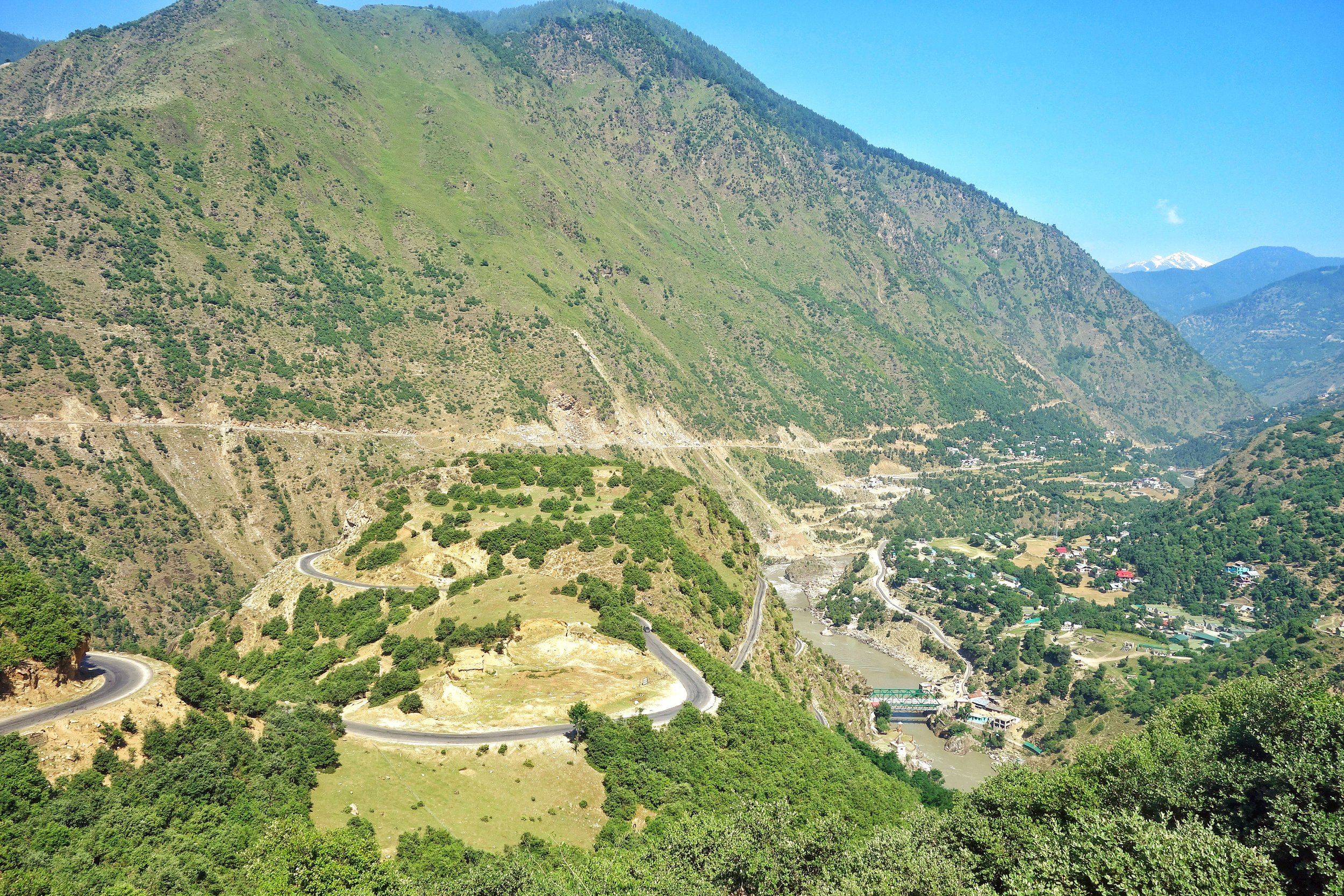 Bandarkoot near Kishtwar where the Marsudar meets the Chenab / Chandrabhaga