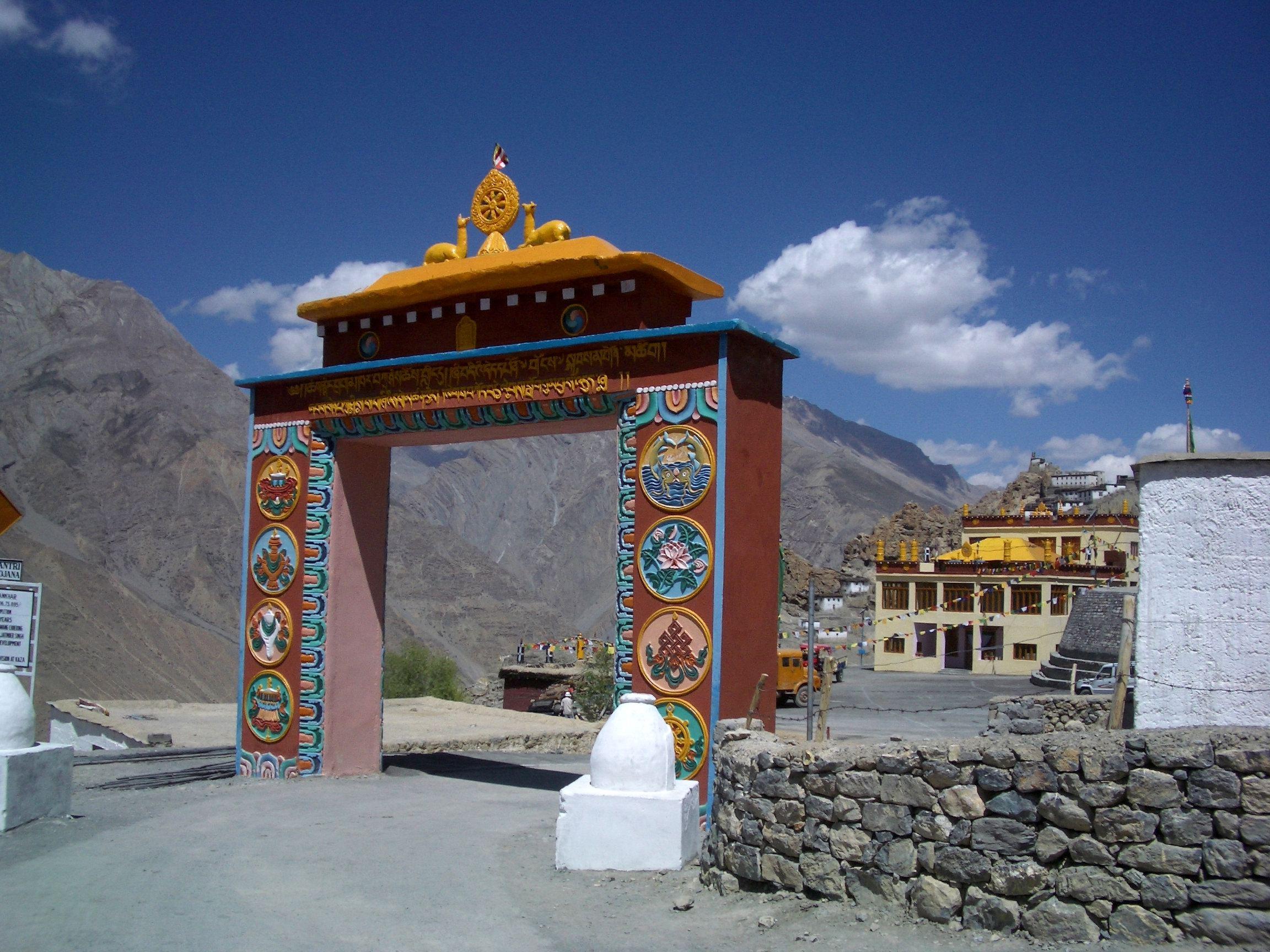 dhankar-gompa-main-gate