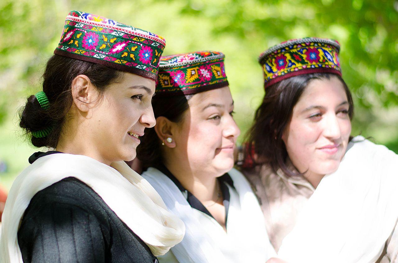 Hunza (Burusho) Ladies. Pic credit Wikipedia
