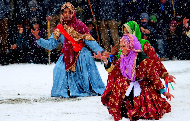Ladies in Kargil. Pic Courtesy Roots Ladakh