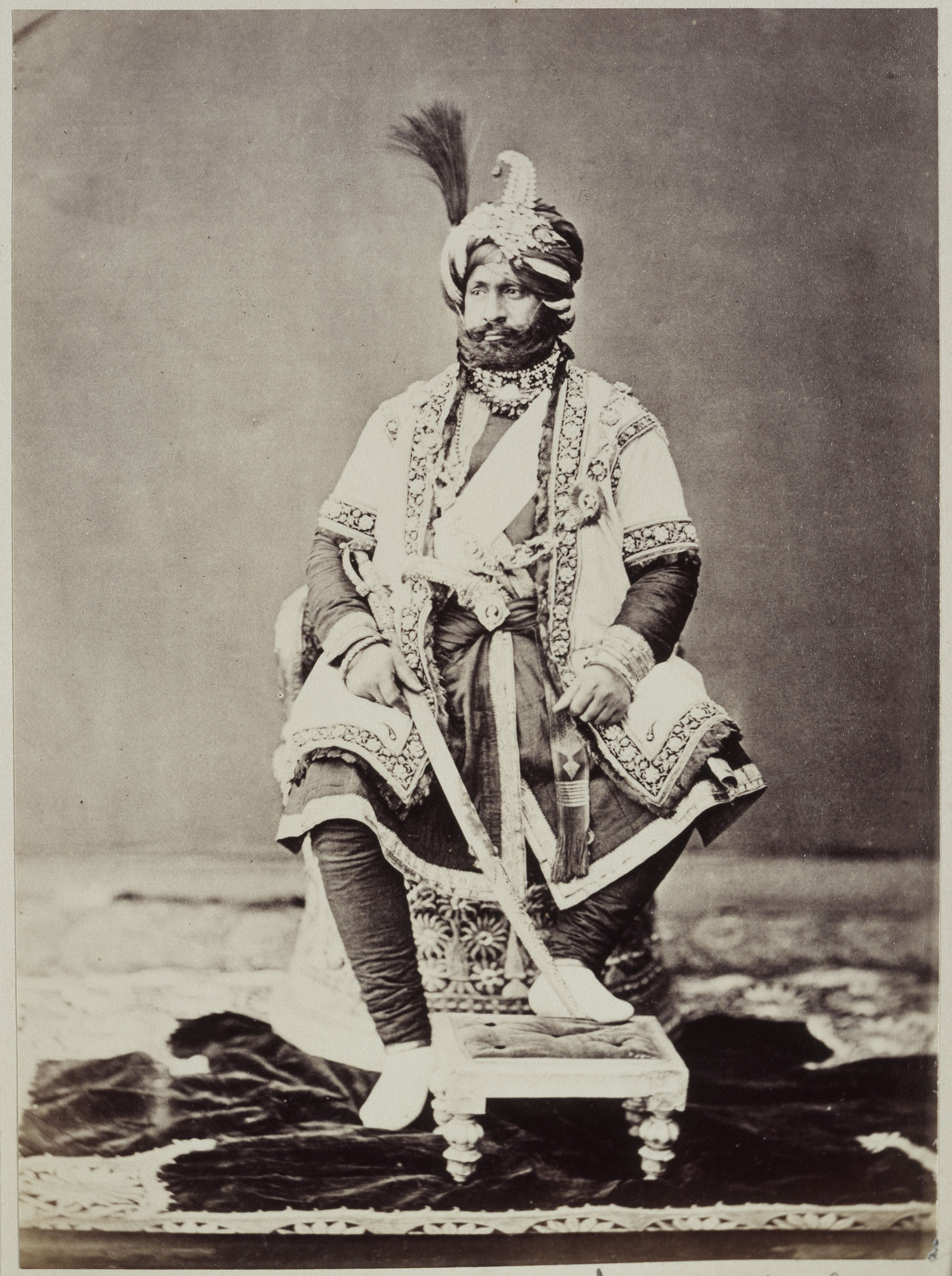 Maharaja Ranbir Singh, the Dogra Ruler of Jammu and Kashmir state during who's Rule the Dogra Kingdom reached it largest extent and also included Chitral