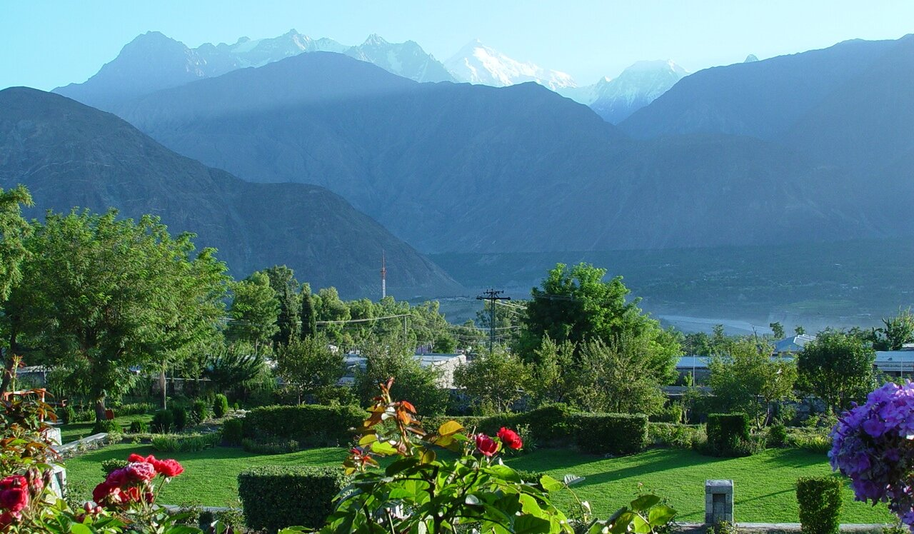 Rakaposhi Peak as seen from the Gilgit Valley. Pic Courtesy Wikipedia