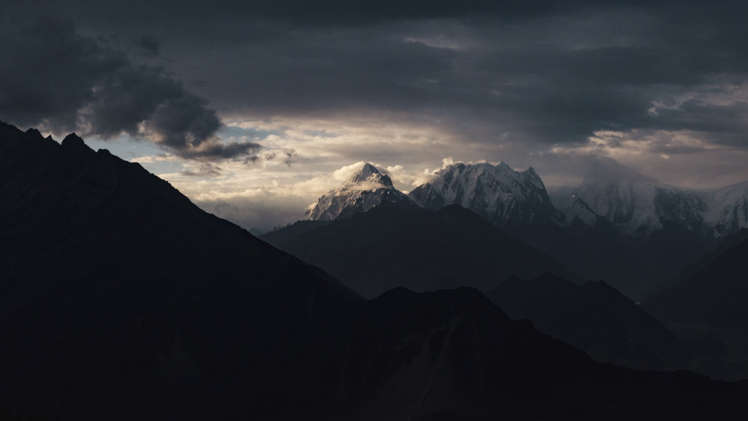 Somewhere in Hunza