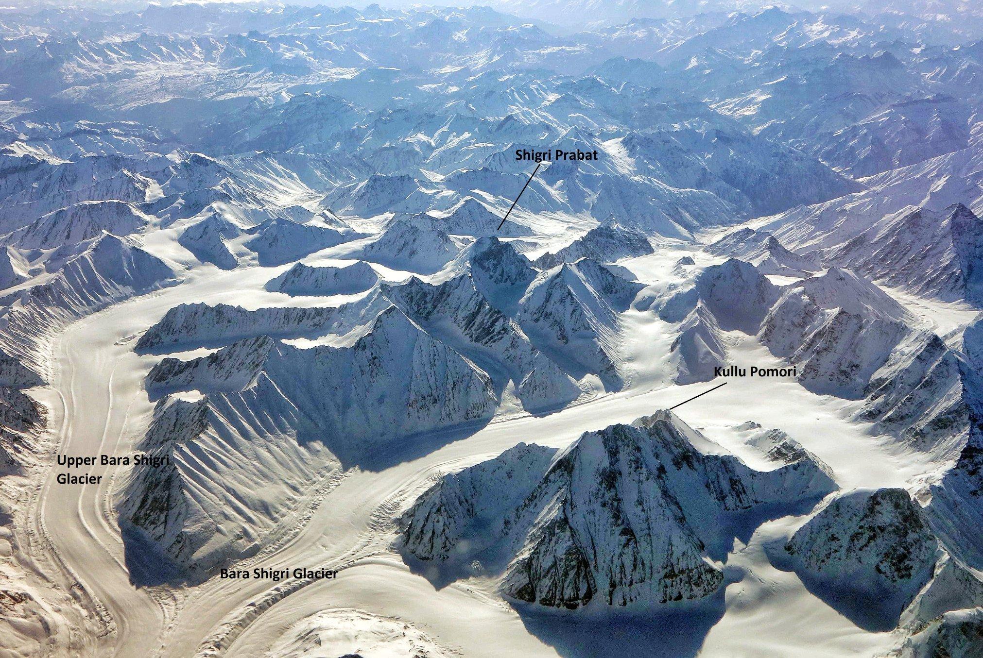 The Bara Shigri Glacier