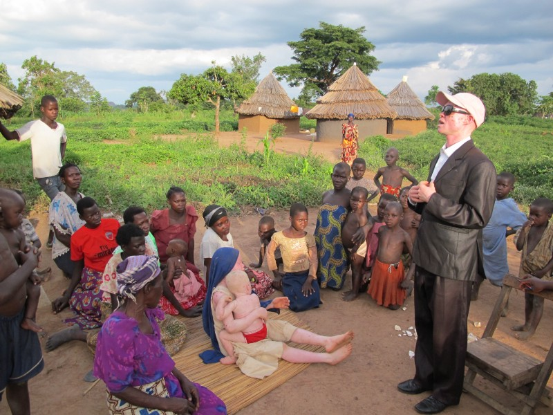 With their partner SNUPA in Uganda, Advantage Africa is dispelling the myths and superstitions surrounding albinism through village meetings, newspapers, TV and radio so that people no longer live in fear for their lives.
