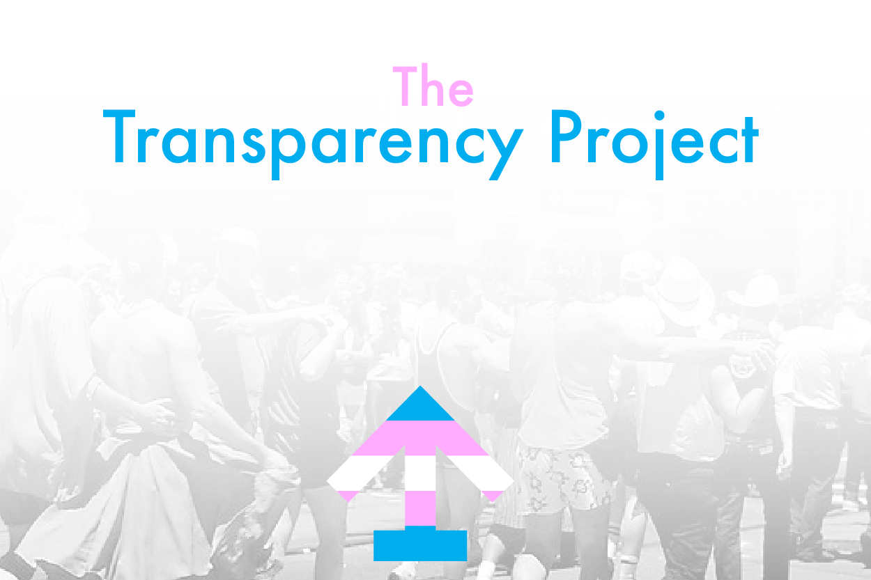 Upcoming Project - Transparency: Stories of Trans Communities of NC