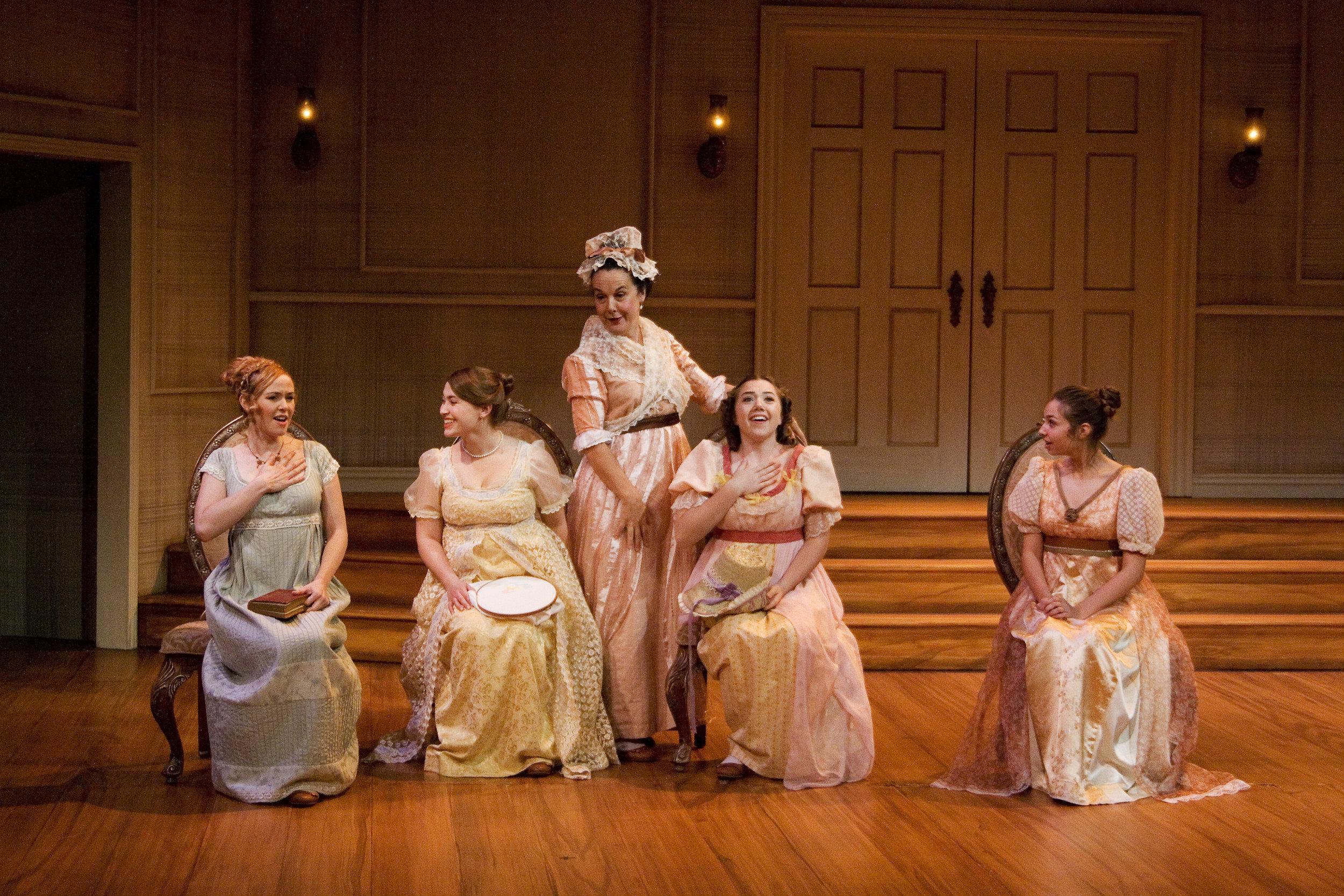 As Jane Bennet in PRIDE AND PREJUDICE (Sacramento Theatre Company). Courtesy Barry Wisdom