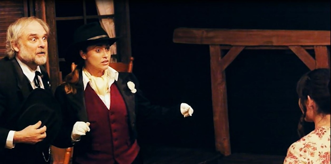 As Slender in THE MERRY WIVES at Big Idea Theatre