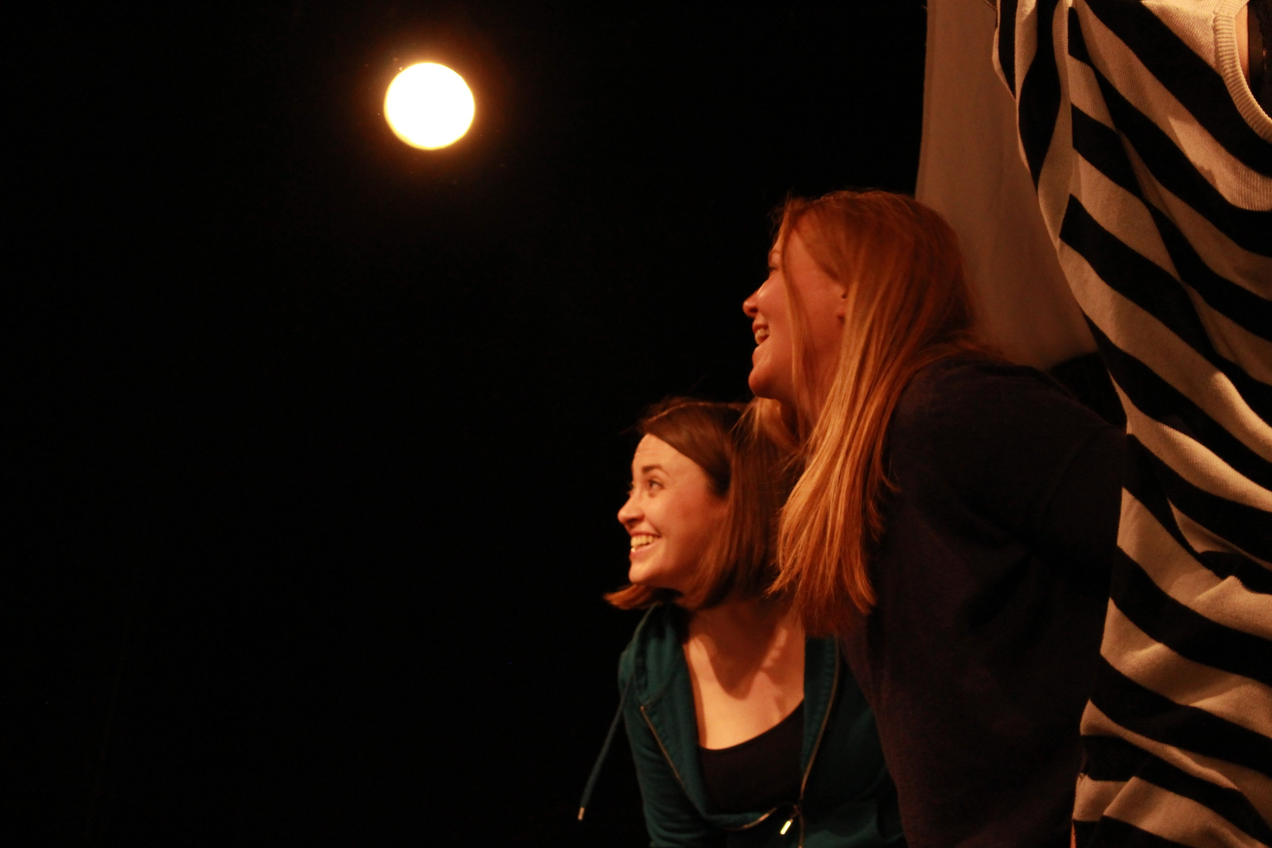 Rehearsal shot from THE SQUIRREL PLAYS (Part of the Main Productions)