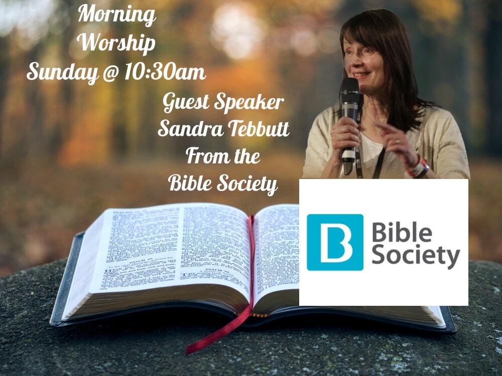 Sandra Tebbutt Bible Society