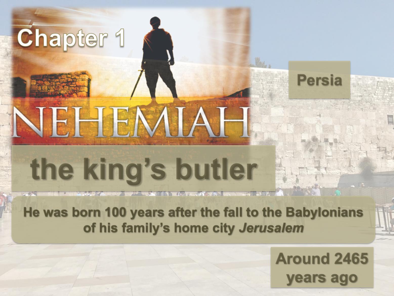 Nehemiah ch. 1