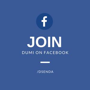 Join Dumi on Facebook