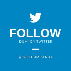 Follow Dumi on Twitter