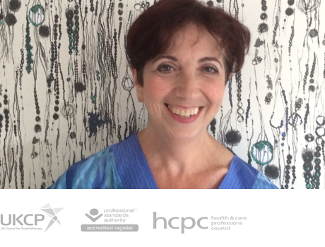 Anna Chesner MA   UKCP reg. Psychotherapist, HCPC reg. Dramatherapist, Supervisor, Trainer and Consultant based in Canary Wharf