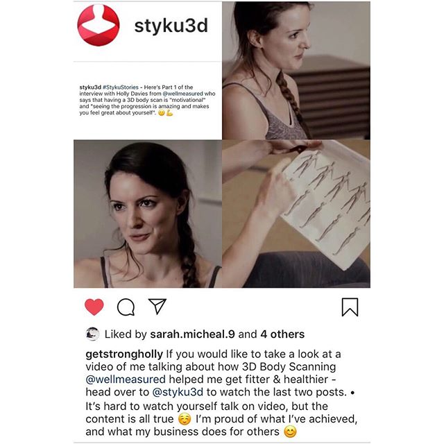 #motivation from me 💁🏻♀️ about why having a 3D Body Scan with us is such a positive and incentivising step in your health & well-being journey, and how it helped me reach my goals. • Book in online via our website and see for yourself 🙌🏽💪🏽 • Head over to @styku3d to watch the videos ☺️📹 • #wellmeasured #3dbodyscan #bodycomposition #bodymeasurements #bodyfatpercentage #bodyfat #gynoidfat #androidfat #subcutaneousfat #visceralfat #weightloss #calorietarget #caloriedeficit #getfit #fitness #exercise #health #wellbeing #waistcircumference #healthrisks #goals #motivation #gloucester #gloucestershire #changeyourbody #changeyourlife