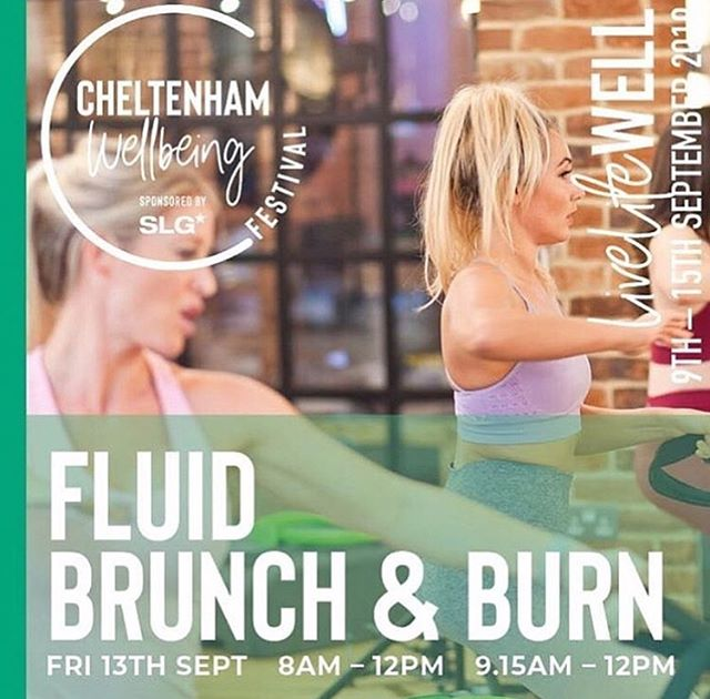 * JOIN US FOR FLUID BRUNCH & BURN * 💚 Just one week to go until the very first @cheltenhamwellbeingfestival begins! 💙 Join us Friday 13th September for a delicious brunch @no131cheltenham pilates with @fluidpilatesbootcamp and motivational talks from @positivebodycoach @my_stylishfriend 💛 As ever, we will be there to discuss all things @wellmeasured including body shape and composition analysis, so head over to the Cheltenham Wellbeing website to book your tickets now 🎫 💚 #wellmeasured #cheltenhamwellbeingfestival #wellbeing #brunch #pilates #cheltenham #wellness #bodycomposition #composition #bodyfat #3dbodyscan #styku3d #bodyshapeanalysis #style #health #getfit #fitness #motivation