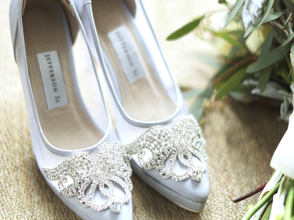 Such an elegant pair. Thank you for my custom-made wedding shoes, Jeff! I super duper loved them. The only pair i needed on my wedding!