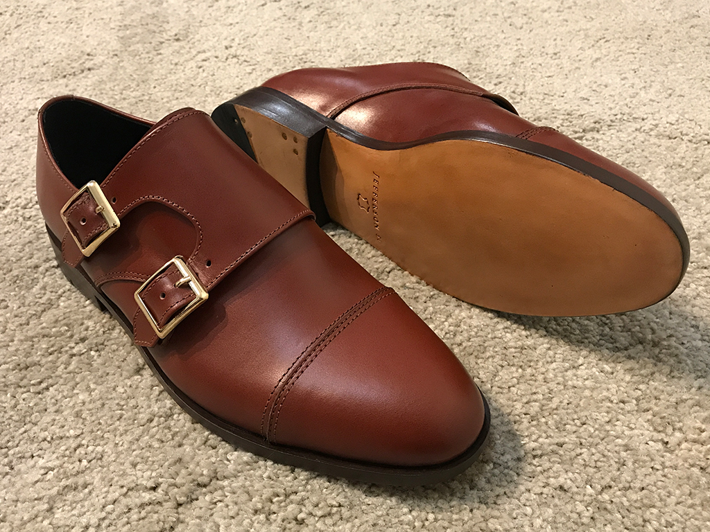 Chestnut Brown Double Monkstrap