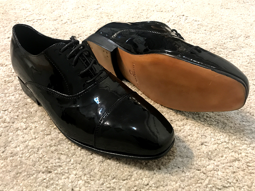 Black Patent Leather Oxford