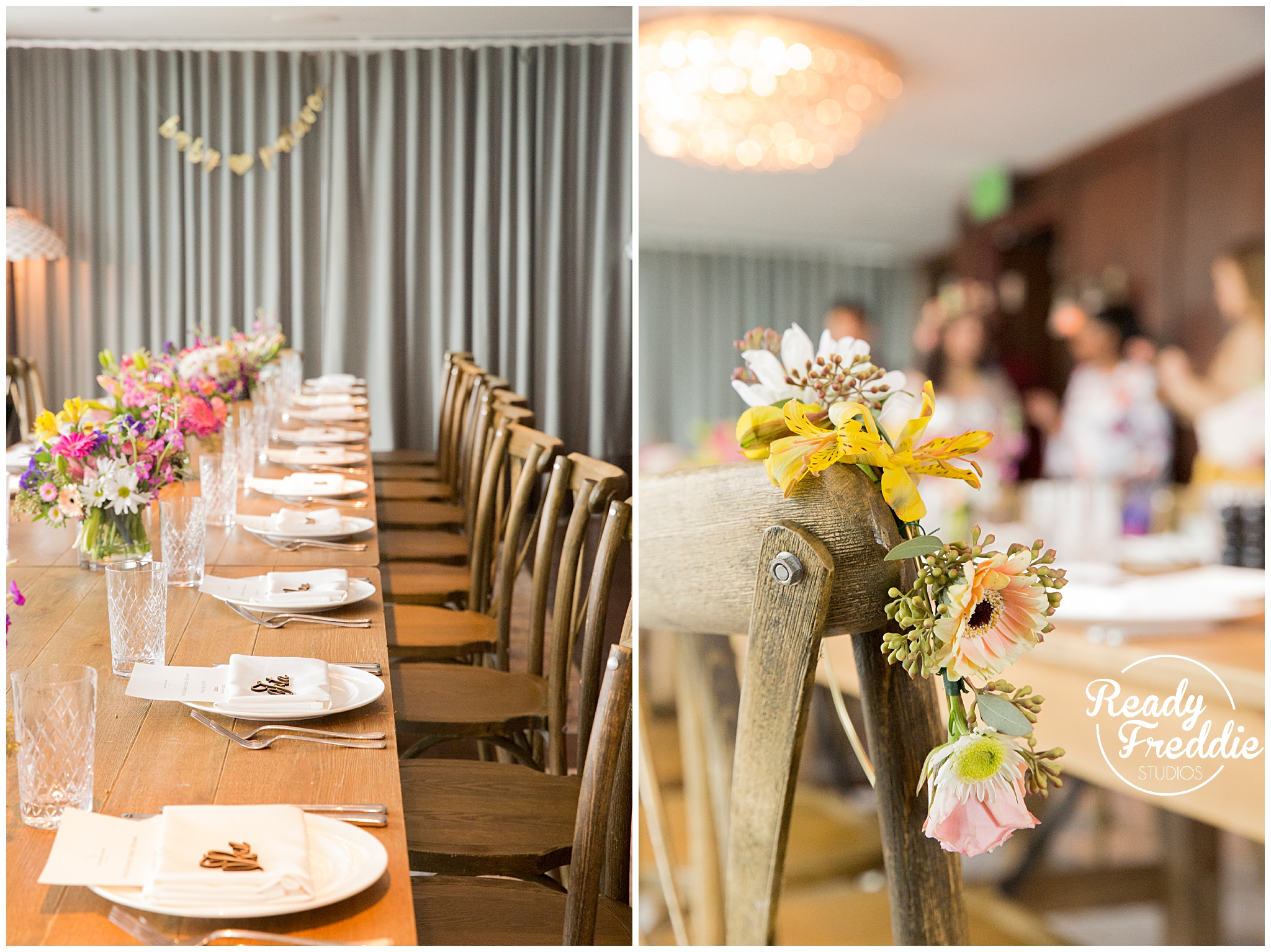 Florals and flower crowns for girl baby shower at the soho beach house in miami fl