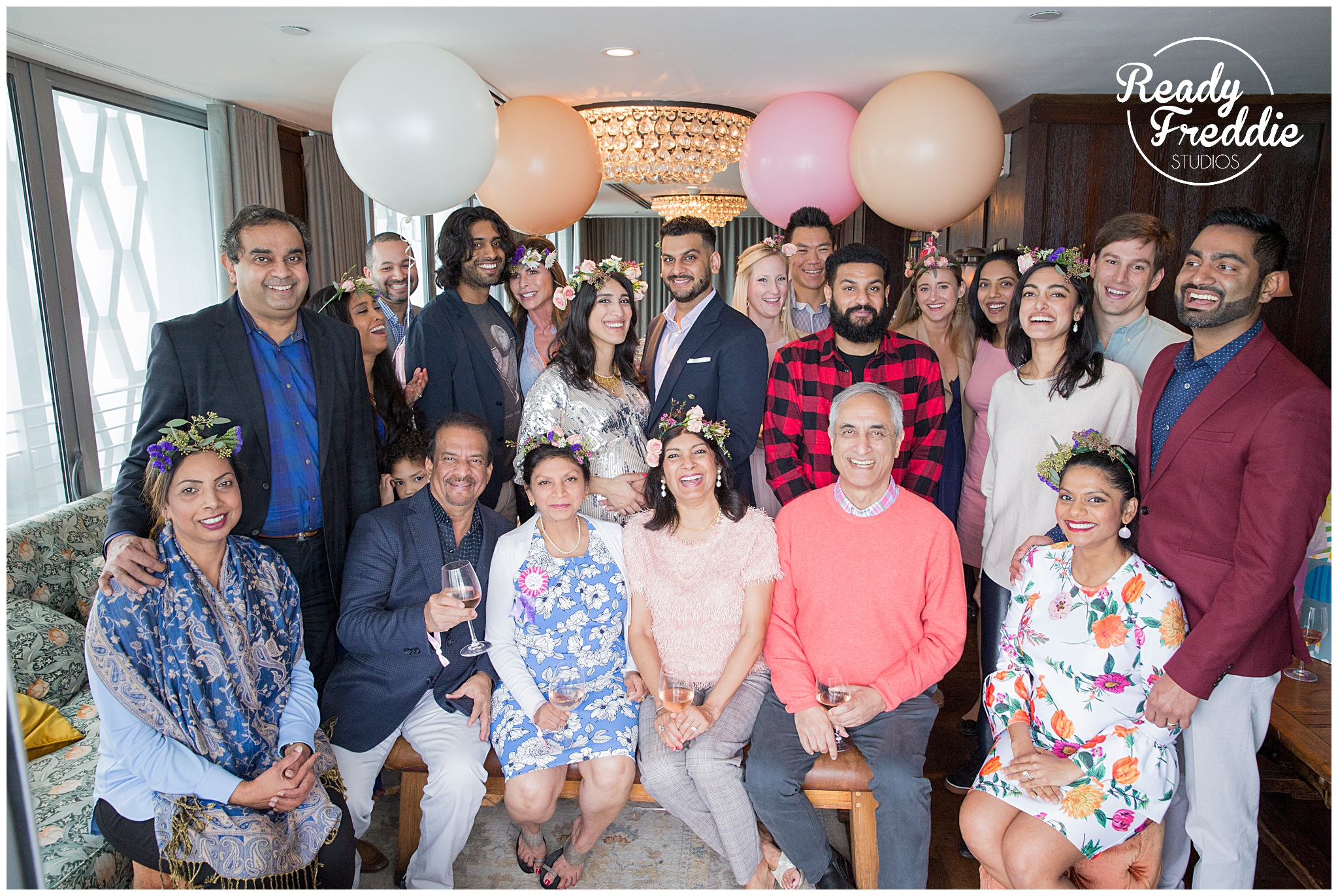 intimate baby shower at the soho beach house in south florida