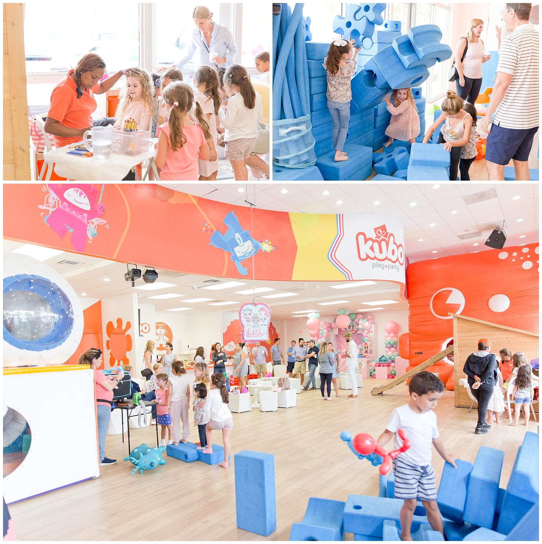 Kids having fun in Kubo Play Kendall