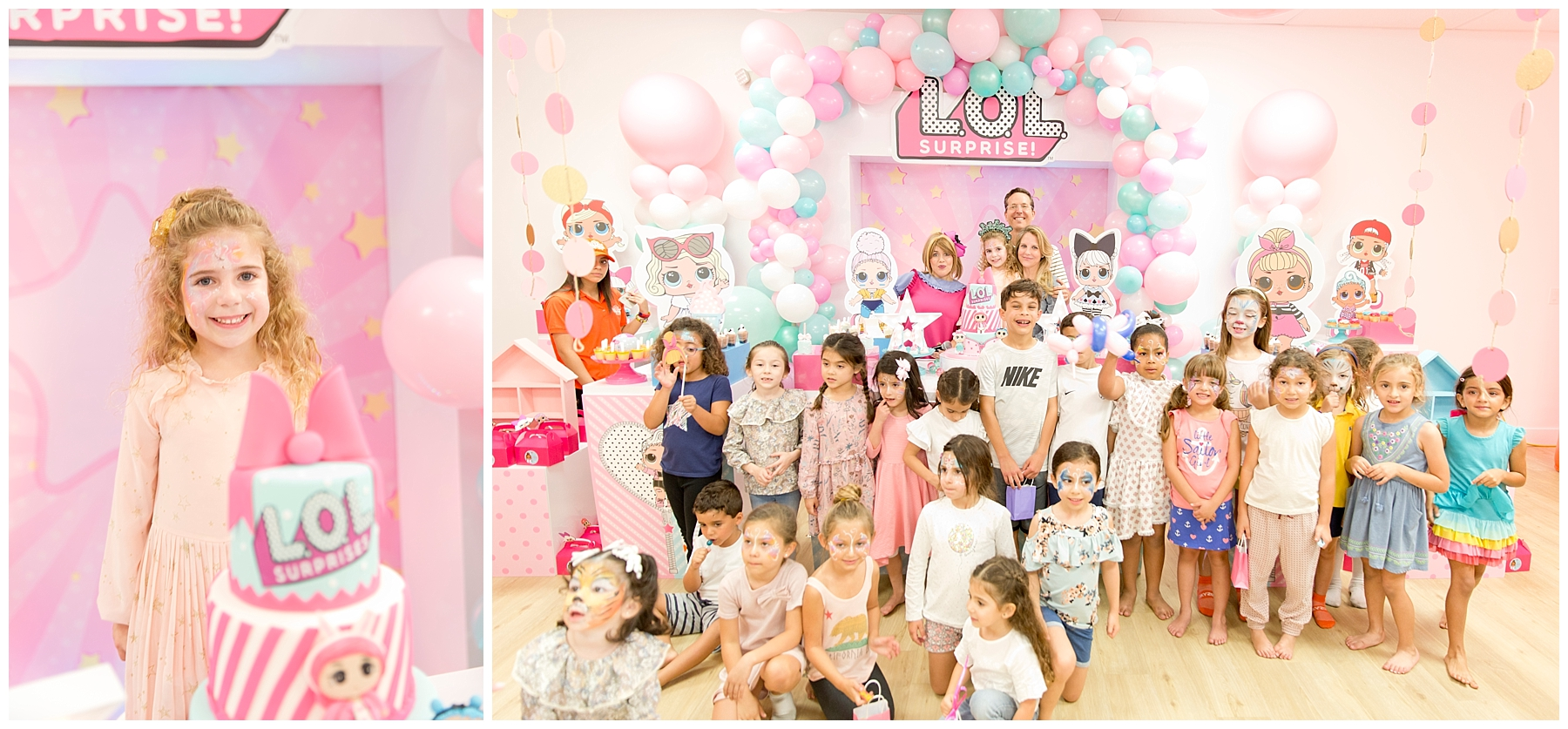L.O.L. Surprise birthday theme at Kubo Play Kendall