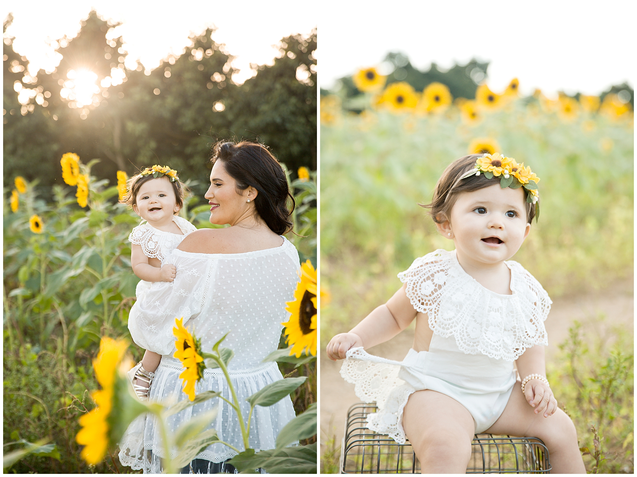 Family Photographer in Miami | Sunflower Field
