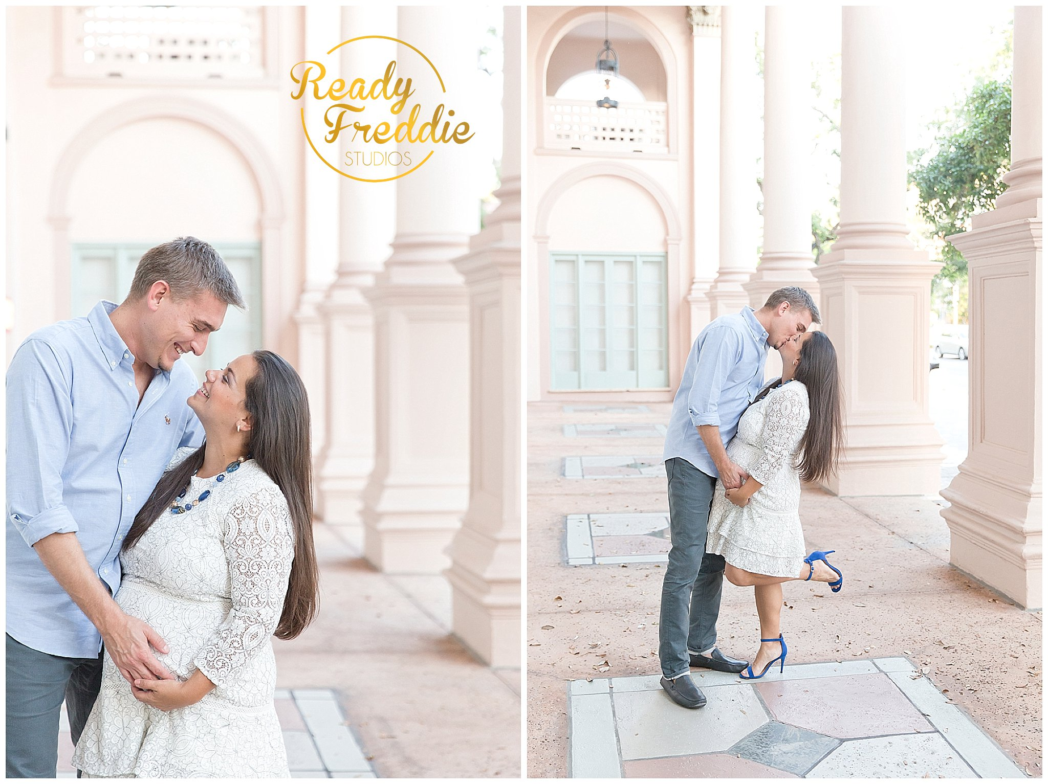 Miami Maternity Photoshoot in Miami FL at the Colonnade Hotel