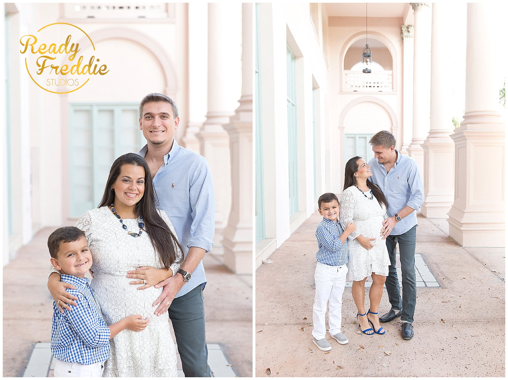 Family Maternity Session in Miami FL
