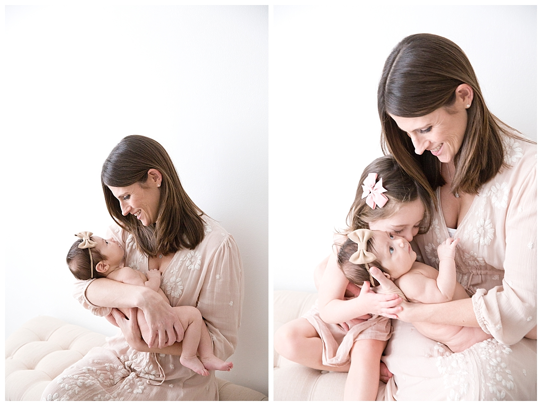 mommy and me photography session | miami motherhood photographer | newborn session in miami, fl