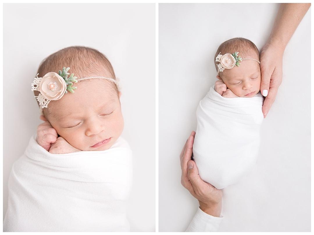 newborn wrapping techniques | miami fl newborn photographer