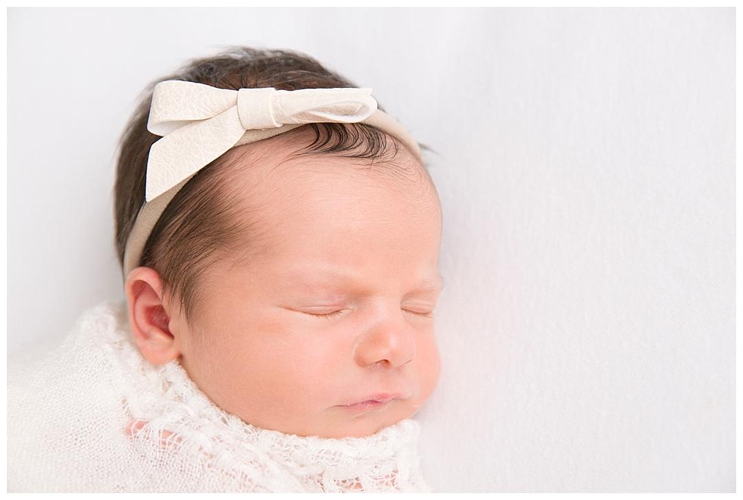 miami newborn in studio photography session