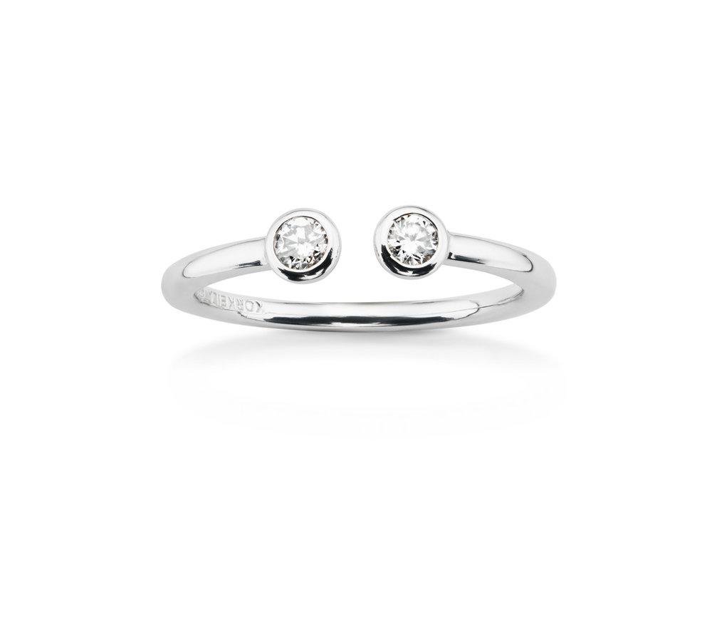 Natta Twin Lab Grown Diamond Ring