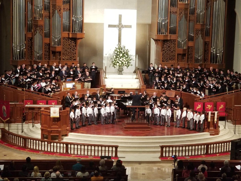 Georgia Boychoir Festival Concert —February 16. The Tenth Annual  Georgia  Boy Choir  Festival  and Grand Finale Concert at Peachtree Road United Methodist Church in Atlanta.