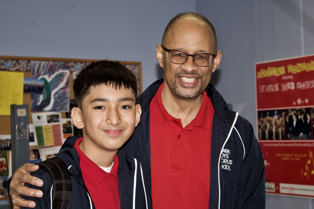 Jeff Torres_ 8th Grader with DonaldMorris.jpg