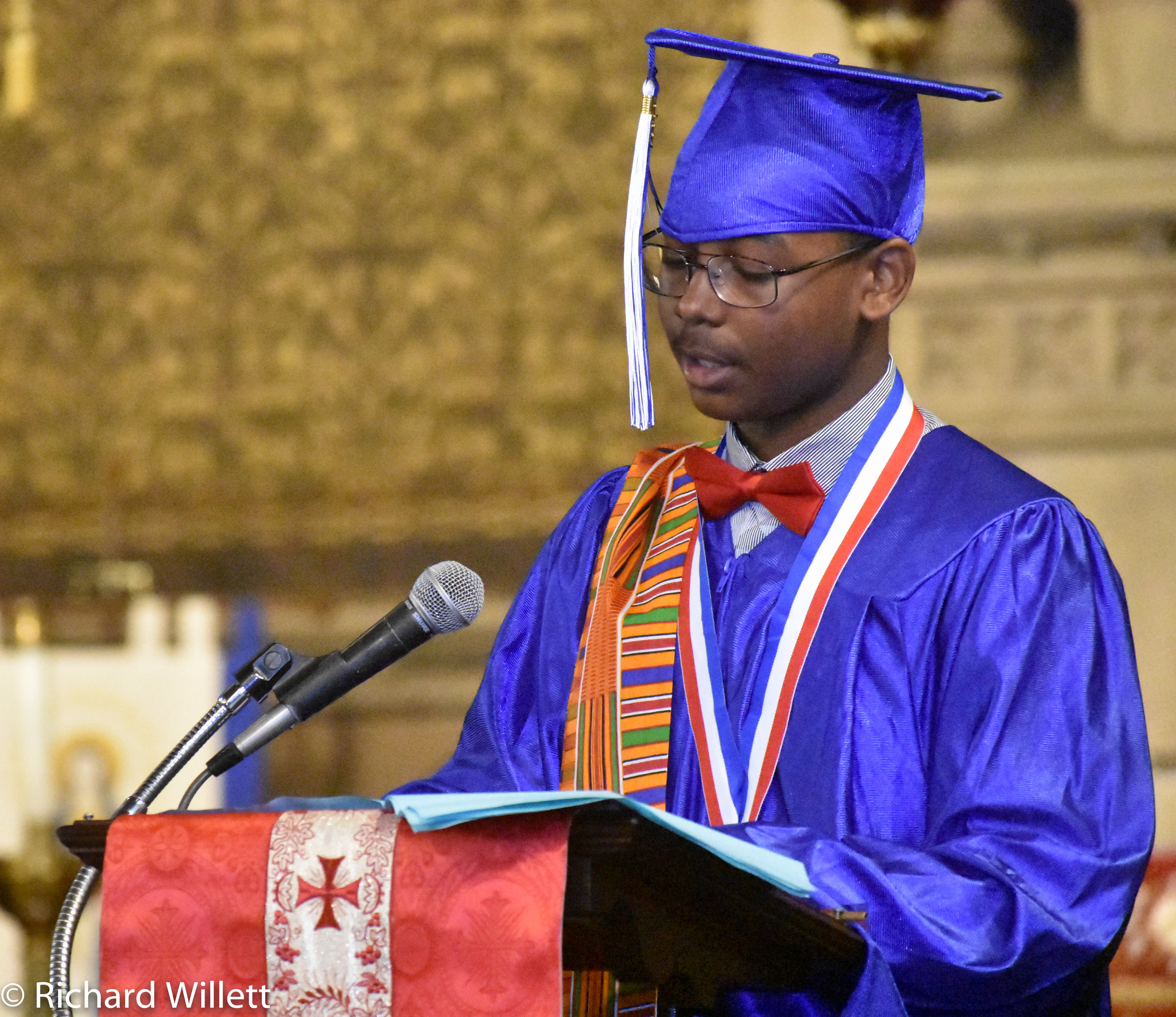 "- Valedictorian Elijah Johnson—""We have made memories!"""
