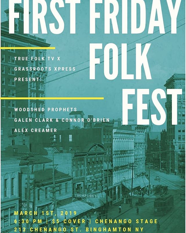 This Friday we're having our second First Friday Folk Fest!  Flyer by @tuesday__moon 🖌🖍