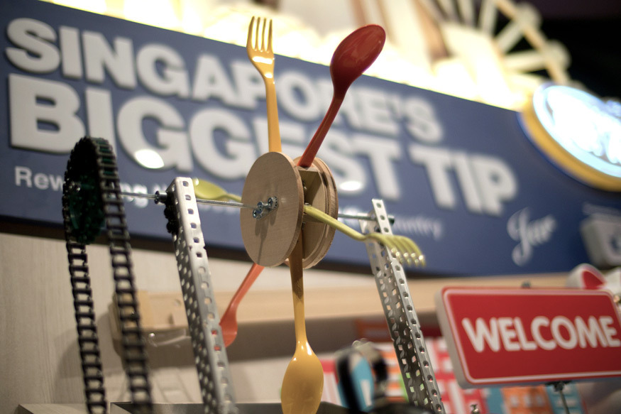 SINGAPORE TOURISM BOARD - BIGGEST DIGITAL TIP JAR
