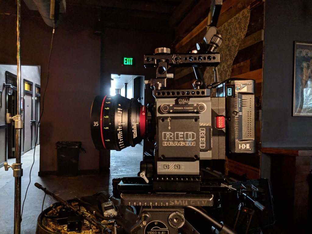 One of our high end video equipment with 5K video production capability. -