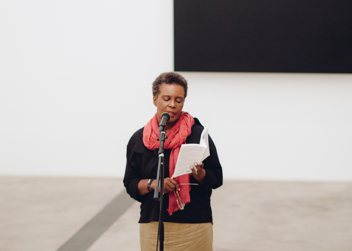 Poetry of Its Own Making  , August 20, 2014, Pulitzer Arts Foundation. A collaborative poetry event featuring poets Claudia Rankine and Christian Bök.