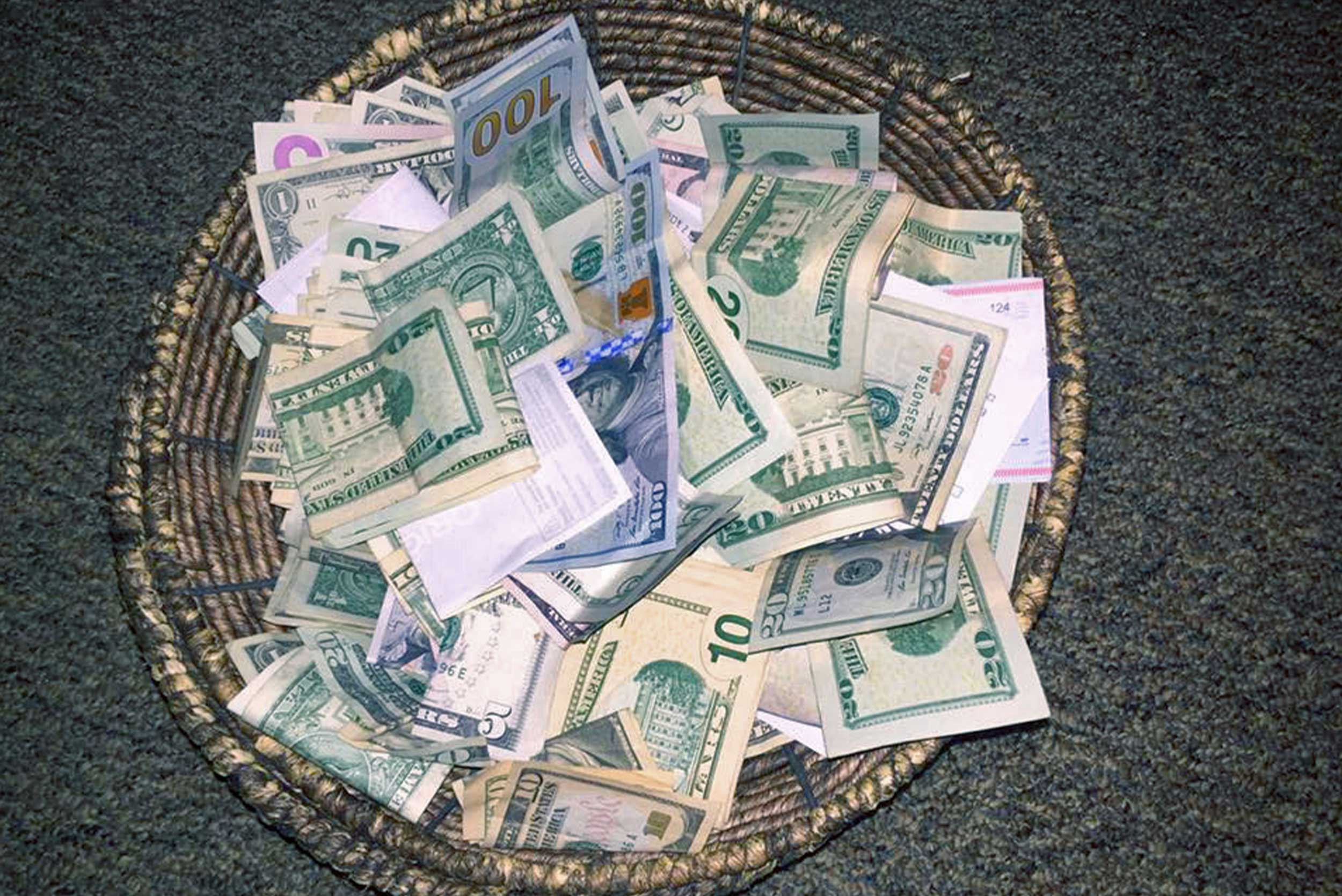 Give - I will give of my resources generously, beginning with a tithe, in partnership with the mission of the church.