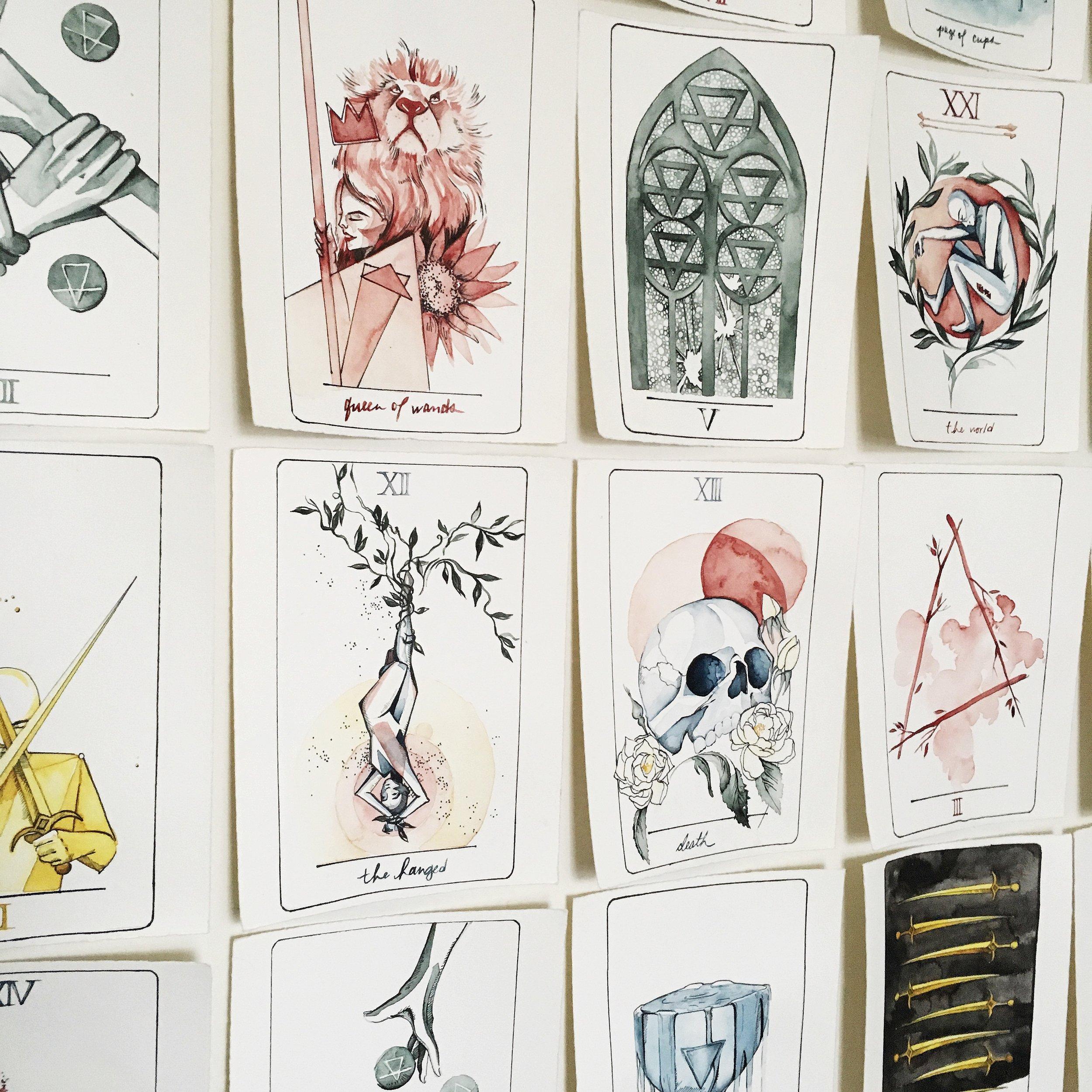 vindur tarot deck by leah pantea