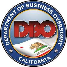 California's Department of Business Oversight logo