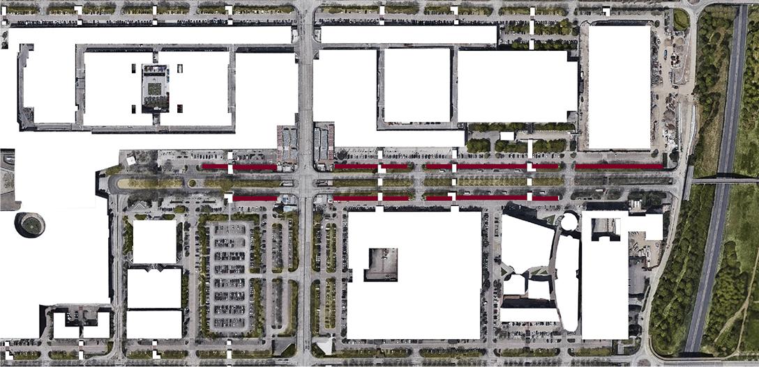 Midsummer Boulevard, strategic master plan