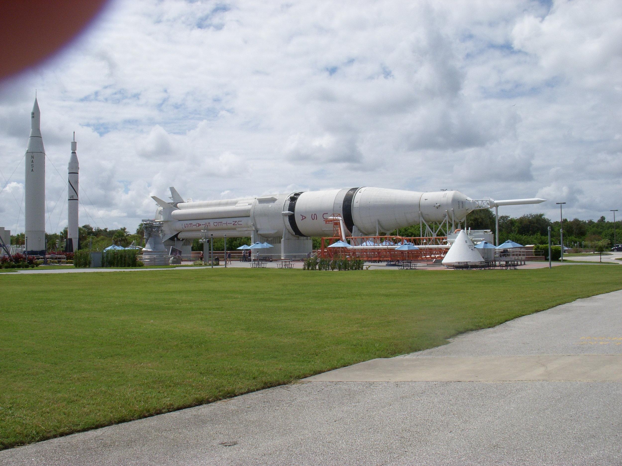Medium rocket.