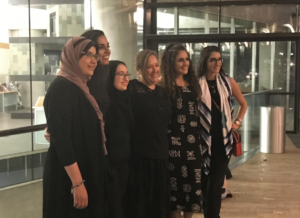 A panel of six Muslim women spoke to a group gathered at SLC's downtown library Wednesday evening. The event was an effort to create an honest dialogue and dispel common misconceptions about Islam. - - Lee Hale, KUER
